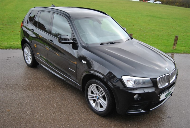 used BMW X3 XDRIVE30D M SPORT in west-sussex-surrey