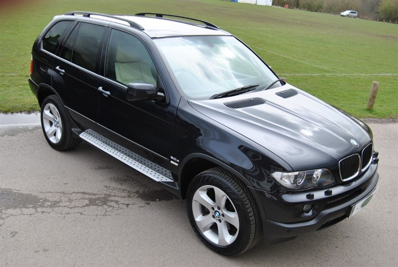 used BMW X5 3.0D EXCLUSIVE SPORT EDITION in west-sussex-surrey