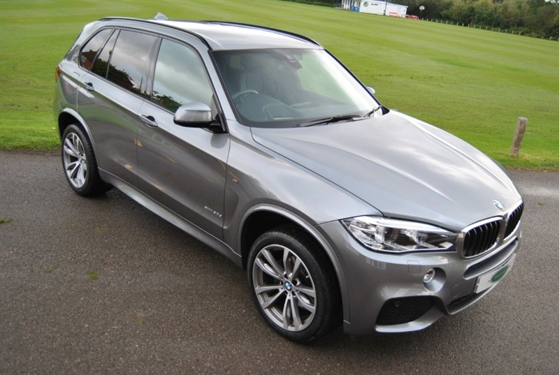 used BMW X5 XDRIVE30D M SPORT - Head Up / Harman Kardon in west-sussex-surrey