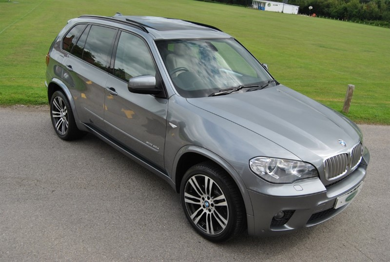 used BMW X5 40d M SPORT - 7 Seats / Panoramic Roof in west-sussex-surrey