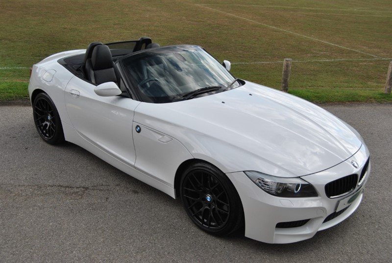 used BMW Z4 SDRIVE30I M SPORT ROADSTER in west-sussex-surrey