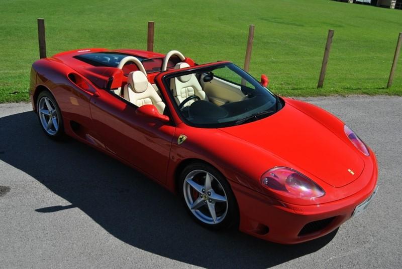 used Ferrari 360 SPIDER - MANUAL in west-sussex-surrey
