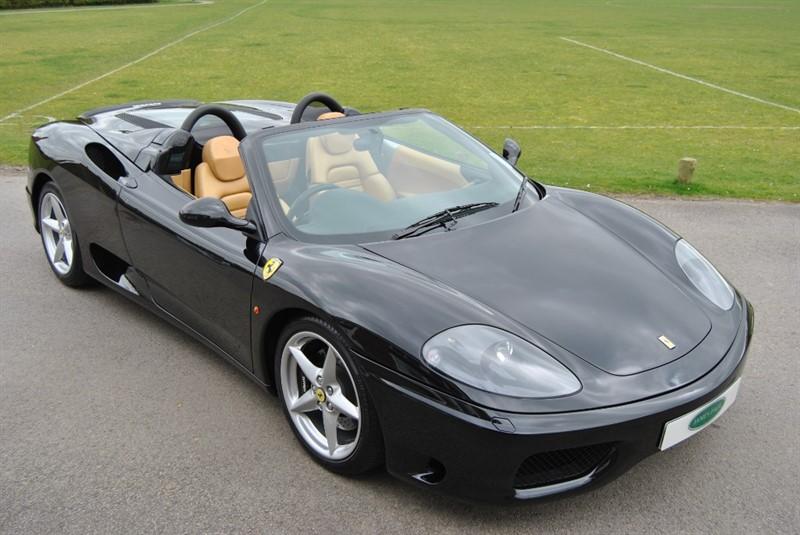 used Ferrari 360 F1 Spider in west-sussex-surrey