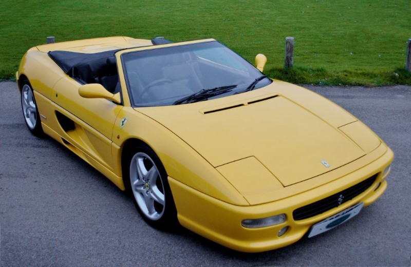 used Ferrari F355 Spider - Only 27.000 Miles in west-sussex-surrey