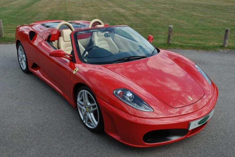 used Ferrari F430 F1 SPIDER in west-sussex-surrey