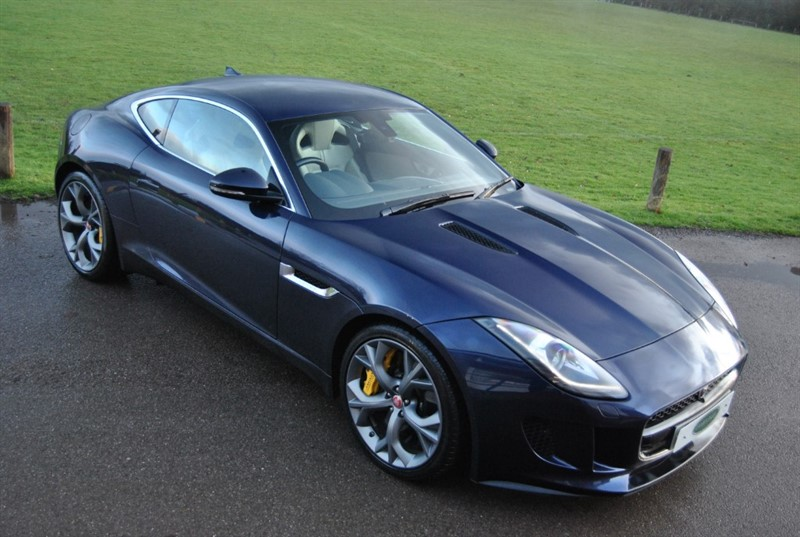 used Jaguar F-Type V6 Supercharged S in west-sussex-surrey