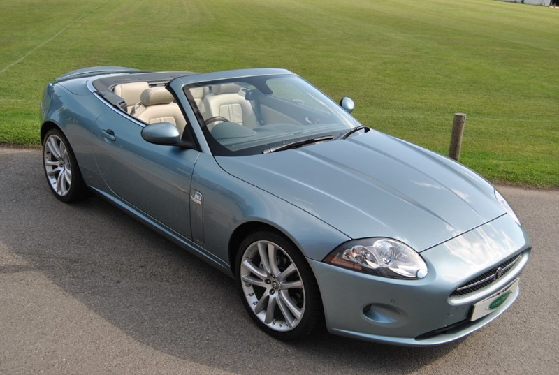 used Jaguar XK CONVERTIBLE - Only 25.000 Miles in west-sussex-surrey