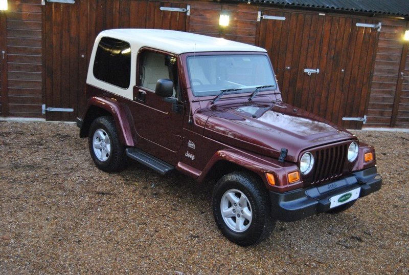 used Jeep Wrangler 4.0 LIMITED SAHARA in west-sussex-surrey