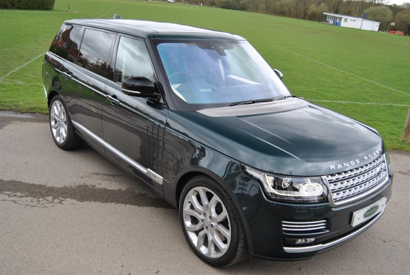 used Land Rover Range Rover LWB 4.4 SDV8 AUTOBIOGRAPHY in west-sussex-surrey