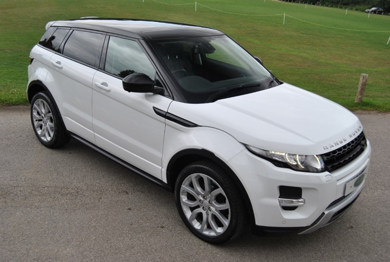 used Land Rover Range Rover Evoque SI4 DYNAMIC LUX in west-sussex-surrey