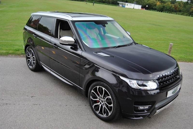 used Land Rover Range Rover Sport 5.0 V8 S/C 2014 M/Y AUTOBIOGRAPHY DYNAMIC in west-sussex-surrey
