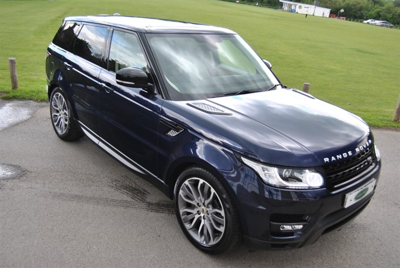 used Land Rover Range Rover Sport SDV6 HSE DYNAMIC 2014 Model in west-sussex-surrey