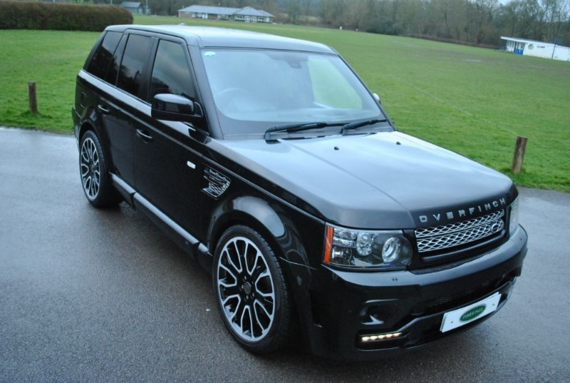 used Land Rover Range Rover Sport 3.0SD OVERFINCH GTS OBSIDIAN LTD  in west-sussex-surrey