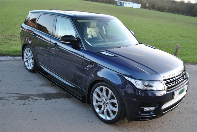 used Land Rover Range Rover Sport 5.0 S/C V8 AUTOBIOGRAPHY DYNAMIC in west-sussex-surrey