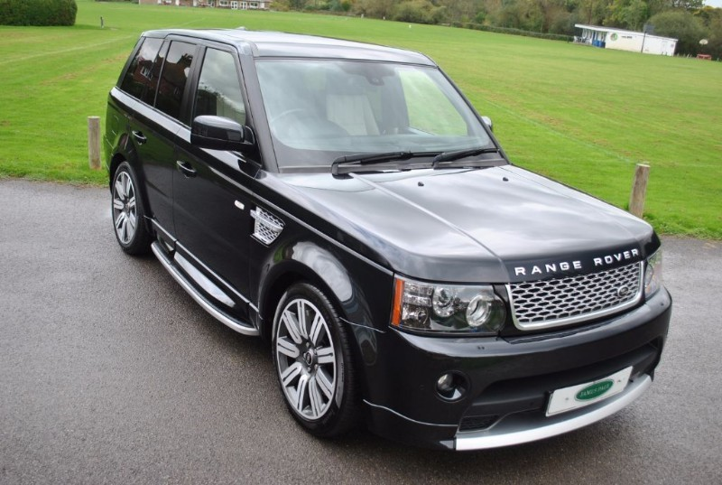 used Land Rover Range Rover Sport 5.0 V8 S/C AUTOBIOGRAPHY -2012 Model  in west-sussex-surrey