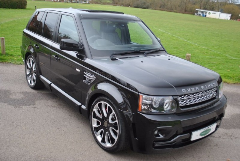 used Land Rover Range Rover Sport 5.0 V8 S/C OVERFINCH GTS OBSIDIAN LTD -2013 Model  in west-sussex-surrey