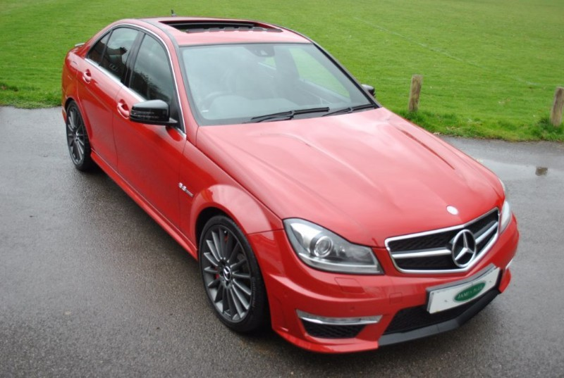 used Mercedes C63 AMG AMG Performance Pack Plus in west-sussex-surrey