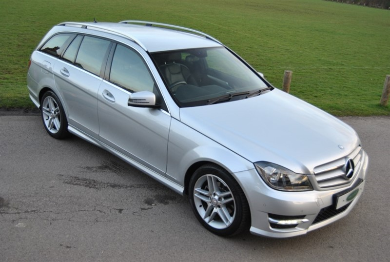 used Mercedes C220 CDI BLUEEFFICIENCY AMG SPORT in west-sussex-surrey