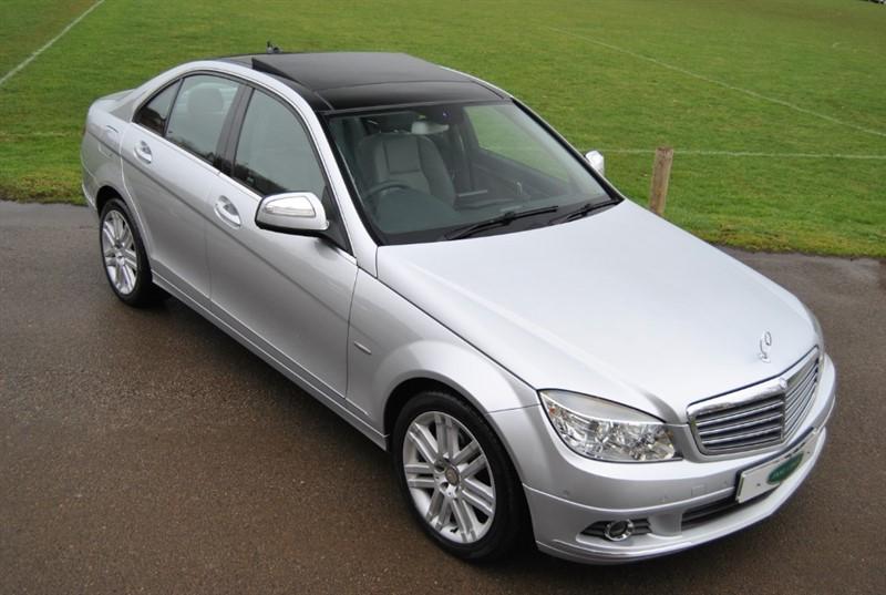 used Mercedes C230 SPORT - Sat Nav / Glass Roof in west-sussex-surrey