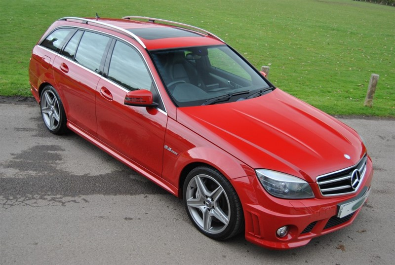 used Mercedes C63 AMG Mercedes-Benz C Class 6.3 C63 AMG G-Tronic 5dr in west-sussex-surrey
