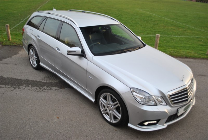 used Mercedes E220 CDI BLUEEFFICIENCY SPORT LTD ED125 in west-sussex-surrey