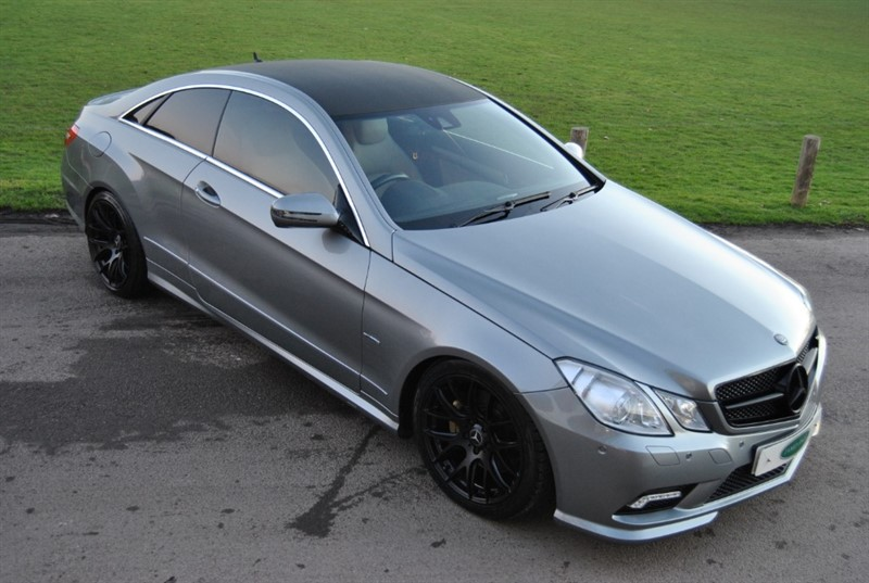 used Mercedes E350 CDI BLUEEFFICIENCY SPORT - CARBON / AMG PACK in west-sussex-surrey