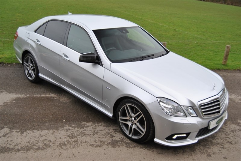 used Mercedes E350 CDI BLUEEFFICIENCY SPORT in west-sussex-surrey