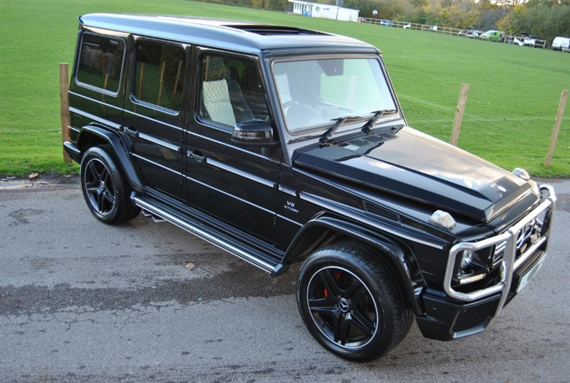 used Mercedes G63 AMG Designo Exclusive Pack in west-sussex-surrey