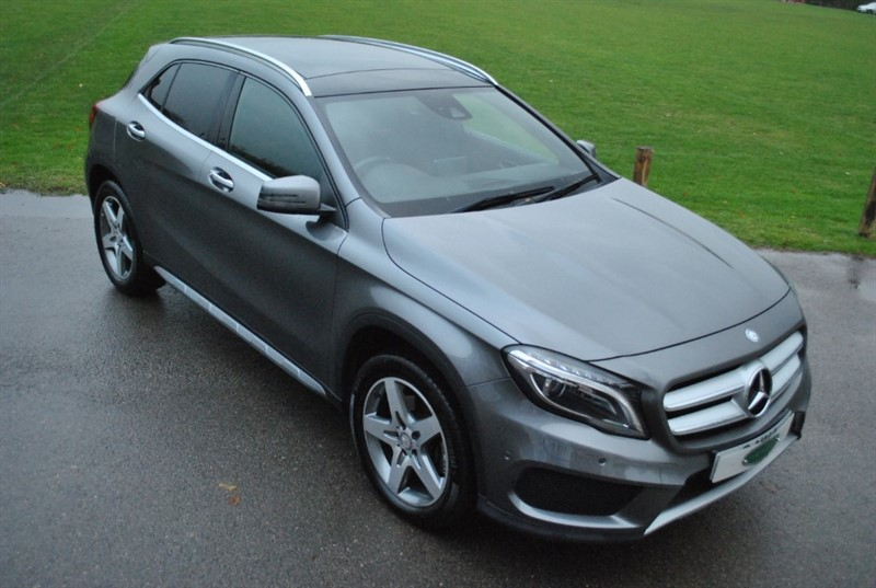 used Mercedes GL A-CLASS GLA 220 D 4MATIC AMG LINE PREMIUM PLUS in west-sussex-surrey