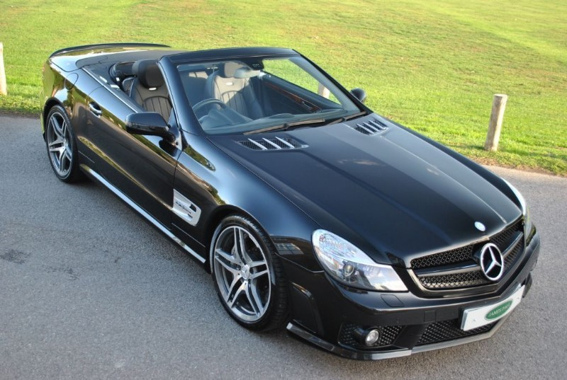 used Mercedes SL SL63 AMG - PERFORMANCE PACK in west-sussex-surrey