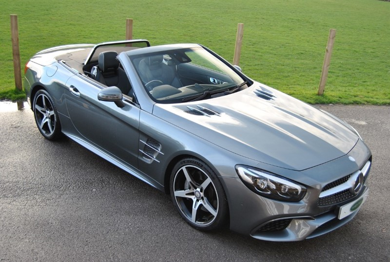 used Mercedes SL SL 400 V6 AMG LINE G-TRONIC in west-sussex-surrey