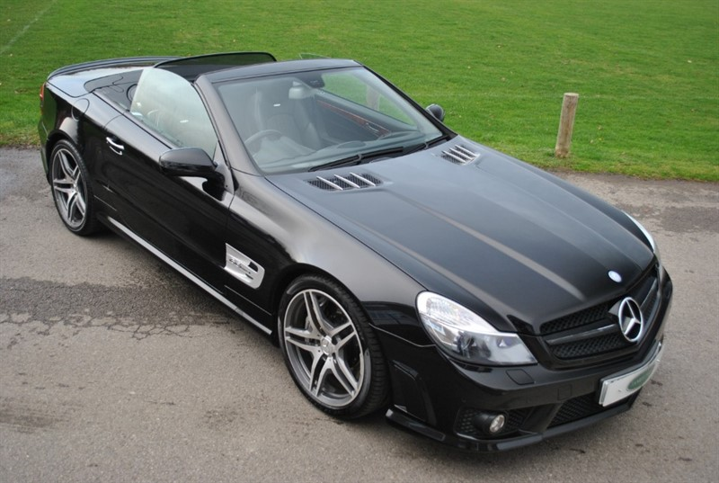 used Mercedes SL63 AMG PERFORMANCE PLUS PACK - LSD in west-sussex-surrey