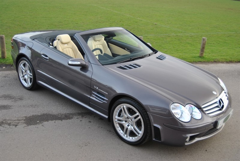 used Mercedes SL55 AMG F1 PERFORMANCE PACK DESIGNO in west-sussex-surrey