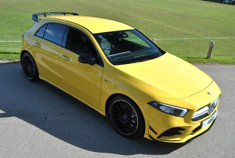 used Mercedes  AMG A 35 4MATIC PREMIUM in west-sussex-surrey