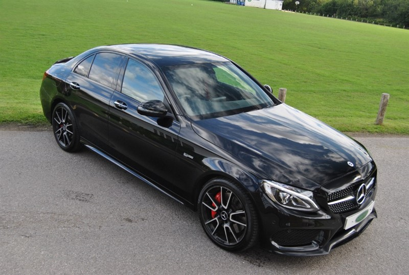 used Mercedes C43 AMG V6 AMG (Premium) G-Tronic+ 4MATIC (s/s) 4dr in west-sussex-surrey