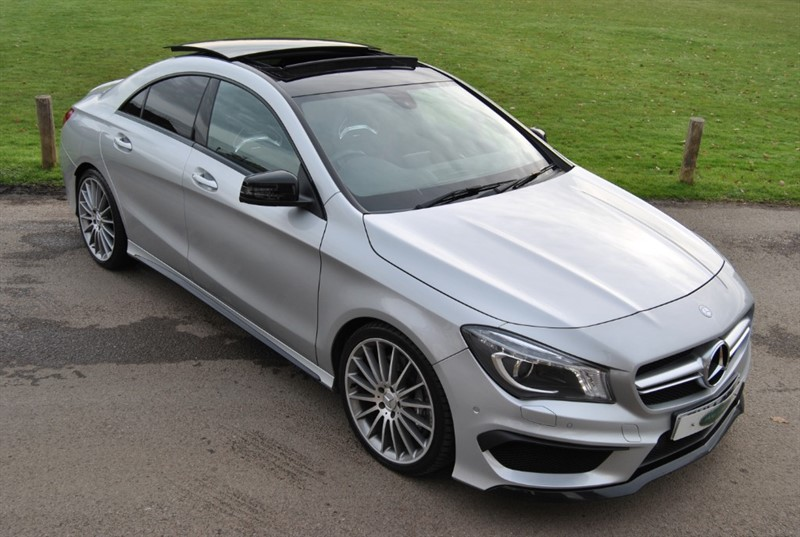 used Mercedes  CLA45 AMG 4MATIC in west-sussex-surrey