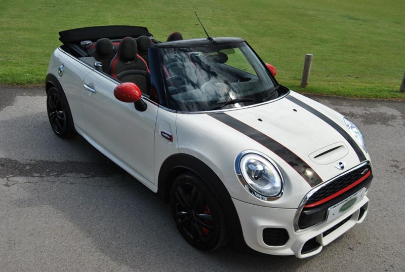 used MINI John Cooper Works 2.0 WORKS CHILI 2 CONVERTIBLE in west-sussex-surrey