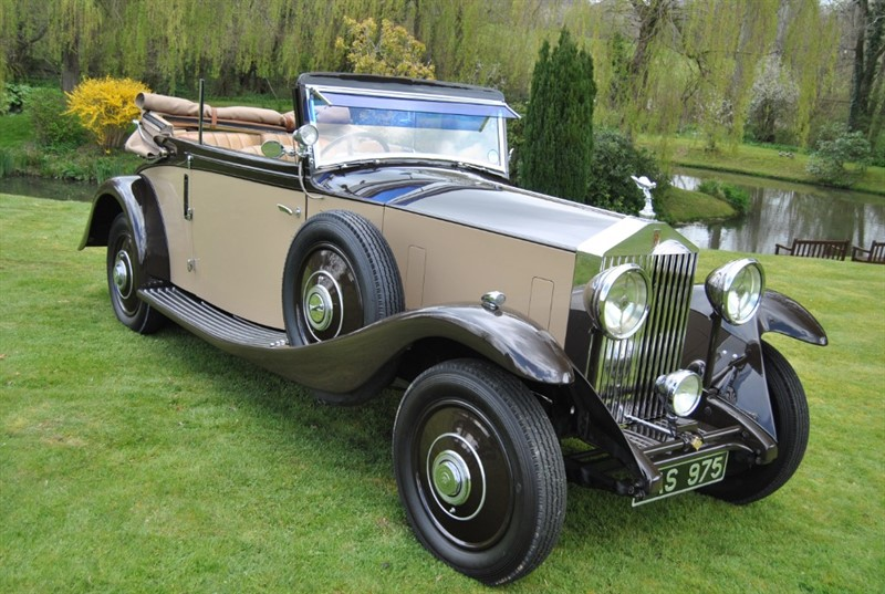 used Rolls-Royce 20/25 Three Position Drophead Coupe in west-sussex-surrey