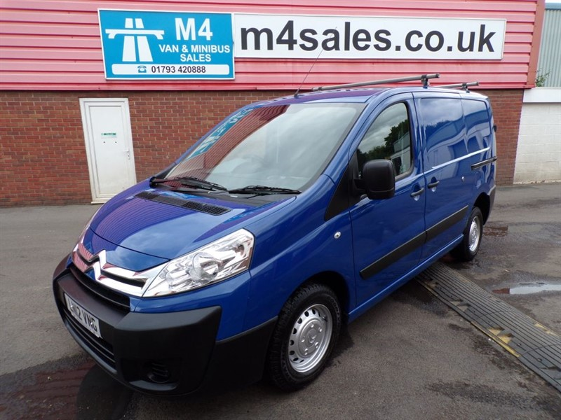 used Citroen Dispatch 1000 ENTERPRISE HDI MWB LOW ROOF 90PS WITH A/C in wiltshire