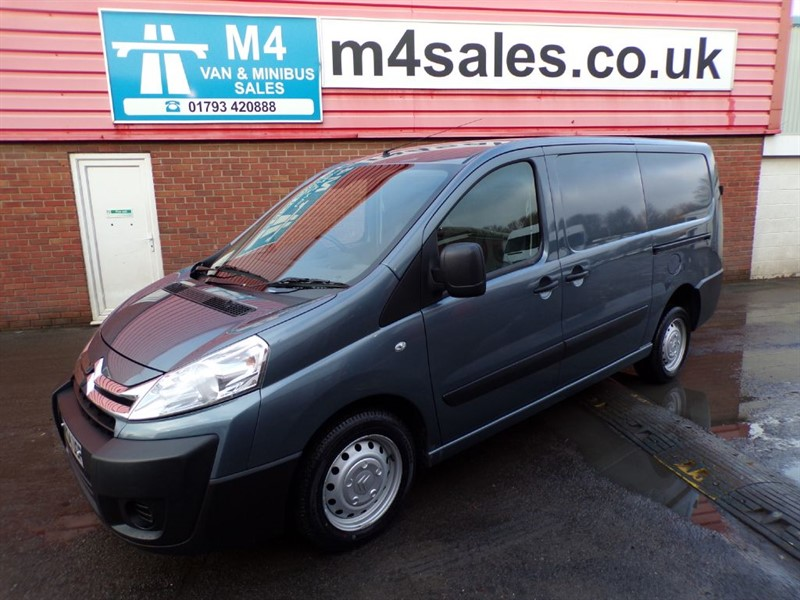 used Citroen Dispatch 1200 L2H1 ENTERPRISE HDI 120PS in wiltshire