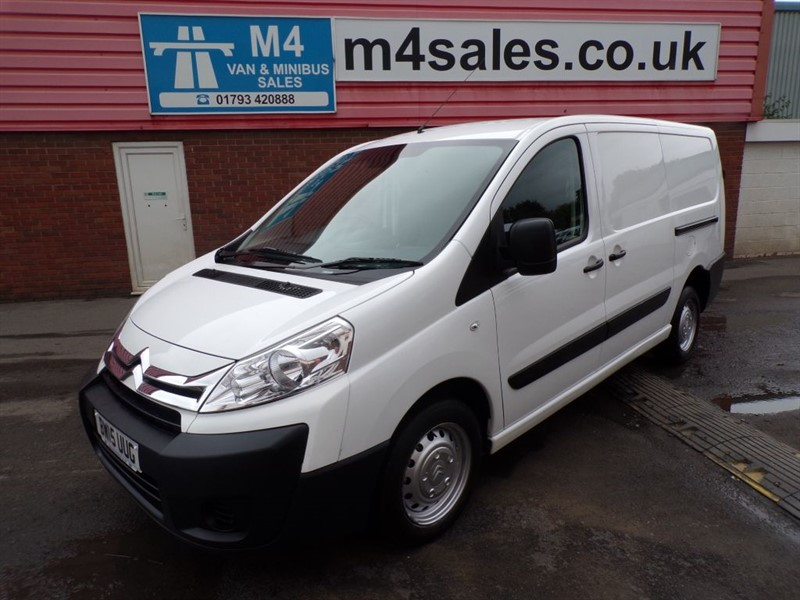 used Citroen Dispatch 1200 LWB HIGH ROOF WITH A/C ENTERPRISE 120PS in wiltshire