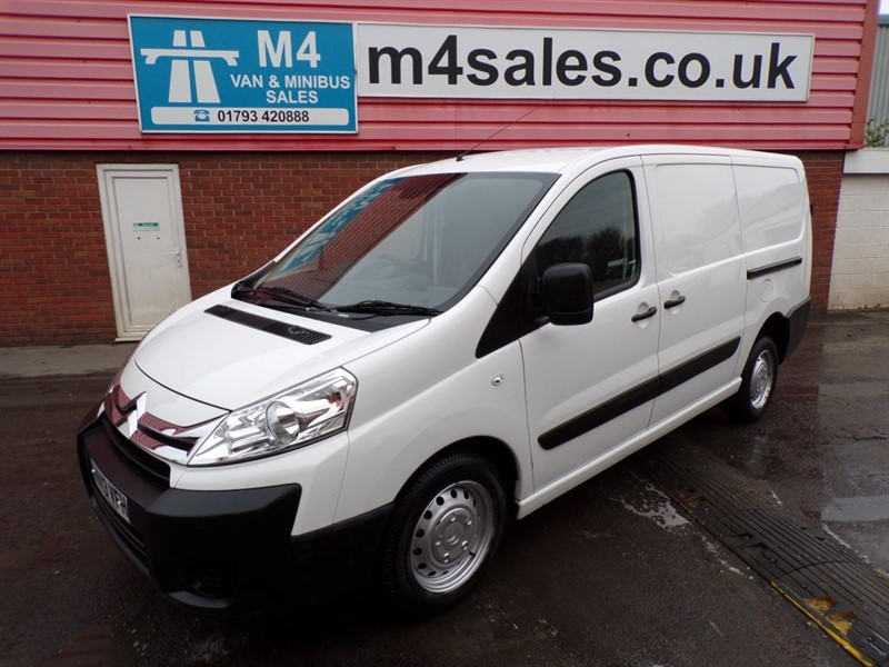 used Citroen Dispatch 1200 L2 H1 ENTERPRISE LWB HDI A/C  in wiltshire