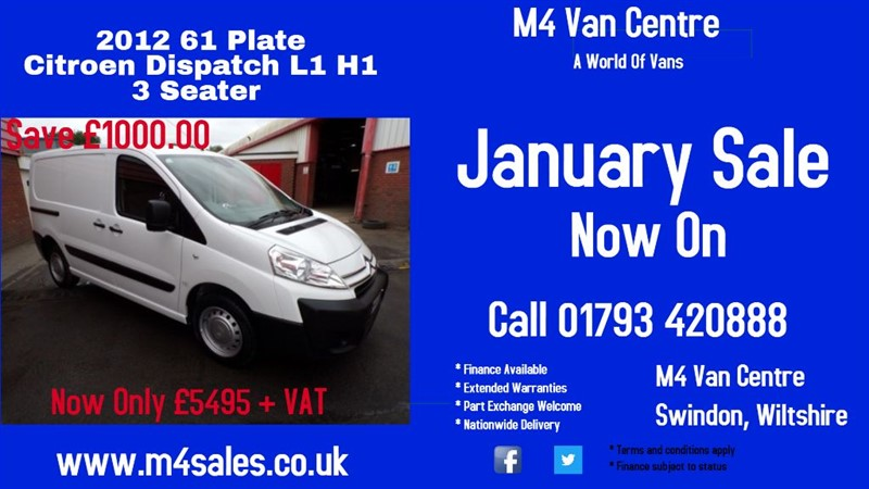 used Citroen Dispatch 1200 L1H1 HDI in wiltshire