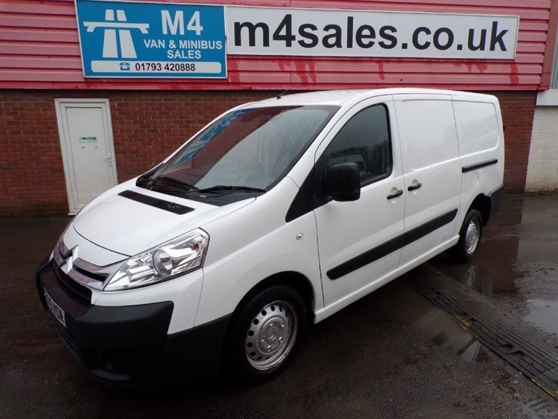 used Citroen Dispatch 1200 L2H1 ENTERPRISE HDI LWB A/C in wiltshire