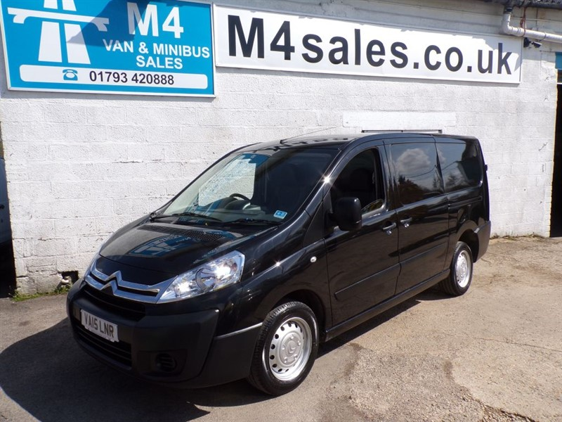 used Citroen Dispatch 1200 L2H1 ENTERPRISE HDI 125PS A/C NO VAT in wiltshire
