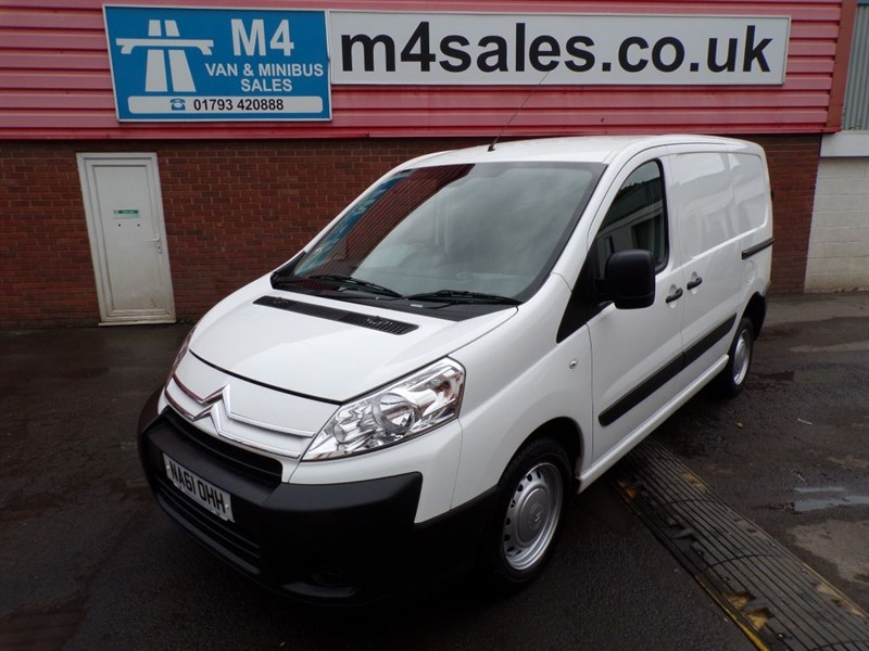 used Citroen Dispatch 1200 L1 H1 HDI 90PS SWB in wiltshire