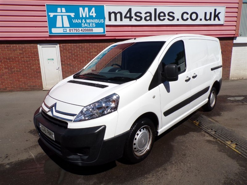 used Citroen Dispatch 1200 L1H1 SWB HDI 90PS A/C in wiltshire
