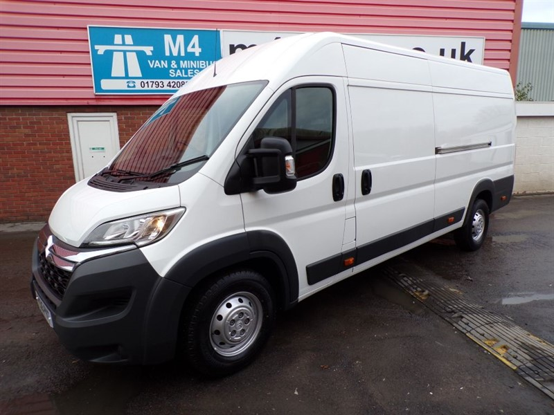 used Citroen Relay 35 HEAVY L4 H2 ENTERPRISE HDI LWB A/C in wiltshire