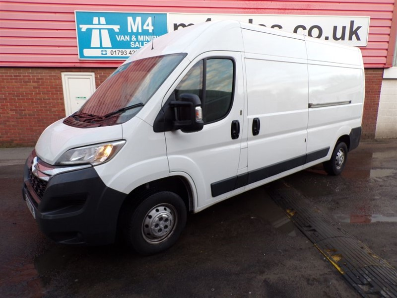 used Citroen Relay 35 L3 H2 ENTERPRISE HDI LWB WITH A/C 130PS in wiltshire