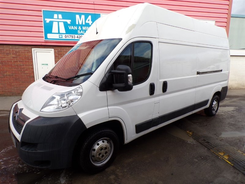 used Citroen Relay 35 L3 H3 HDI LWB 130PS in wiltshire